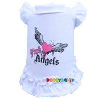 Doggydolly Hundekleid Pink Angel wei�