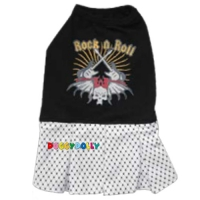 Doggydolly Hundekleid Rock\'n Roll schwarz