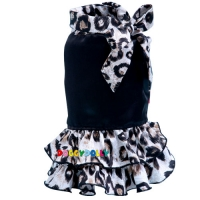 Doggydolly Hundekleid Miss Leopard