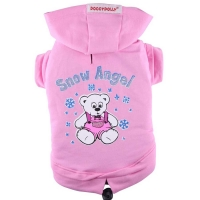 Hundesweater Snow Angel rosa